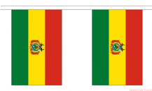 BOLIVIA BUNTING - 3 METRES 10 FLAGS